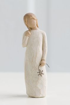 """Audrey"" - Would love a Willow Tree figurine to represent each of the children. Mother's Day idea?"