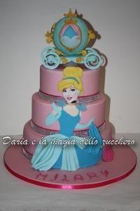 Torta di compleanno inviata da Daria e la magia dello zucchero