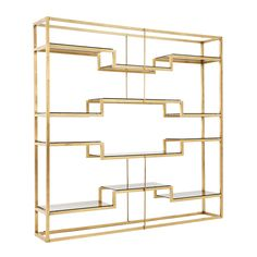 1stdibs | Freestanding Italian Room Divider / Shelving System Attributed To Romeo Rega