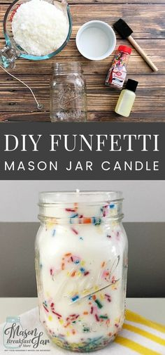 Mason Pantry Candle Jar Scented SPRUCE CHRISTMAS TREE Choose Your Size