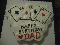 Pull Apart Cupcake Cakes | ... this playing cards pull apart cake for my best friend's dad