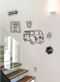 Repin to win this #roadtrip #wall #decal