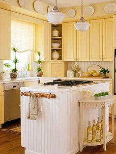 cozinhas com geladeira amarela - Pesquisa Google