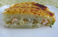 Empadão de bacalhau com camarão   Food From Portugal