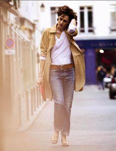 Inès de la Fressange ...She is all things Paris.