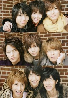 Hey Say Jump! They need to be recognized.