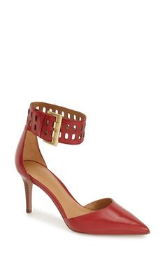 Nine West Ankle Strap Pump (Women)