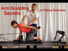 This video is for instructors, or Pilates artists who want more muscle sculpting results from their reformer workouts! The four moves shown are - Supine. Pilates Training, Pilates Workout, Pilates Reformer Exercises, Pilates Barre, Pilates Studio, Pilates At Home, Pilates Instructor, Studio Workouts, Pilates Video