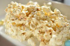 Oh SO Delicioso!: Marshmallow Popcorn