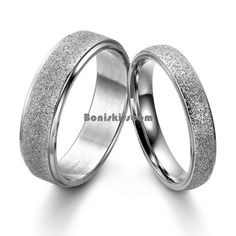 Frosted Center Stainless Steel Dome Engagement Ring Men's Women's Wedding Band #Unbranded