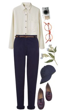 """""""Untitled #611"""" by mywayoflife ❤ liked on Polyvore featuring La Garçonne Moderne, Lacoste and Topshop"""