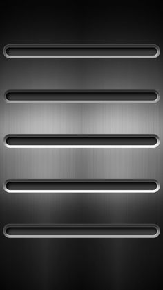 iPhone 5 Wallpapers: Steel Shelves