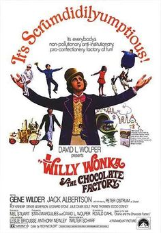 Willy Wonka and the Chocolate Factory Movie Poster It measures 27 x 40 inches or 69 x 101 cms. Willy Wonka the Chocolate Factory is a 1971 musical film adaptation of the 1964 novel Charlie and the Chocolate Factory by Roald Dahl, directed by . Old Movies, Vintage Movies, Great Movies, Vintage Posters, Awesome Movies, Popular Movies, Latest Movies, Willy Wonka, Classic Movie Posters