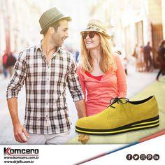 Hafta sonu kombininize renk katmaya ne dersiniz? #Komcero #ayakkabı #trend #fashion #moda #AyağınızdakiEnerji