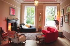 The Roberts' Playful Wonderland West End Townhouse