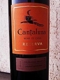 Cantaluna, Cabernet Sauvignon 2010, Colchagua Valley Chile