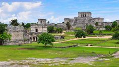Playa Del Carmen: Fun For the Whole Family  Mayan ruins at Tulum © Hugoht | Dreamstime.com #travel #globility #hotels #tourism