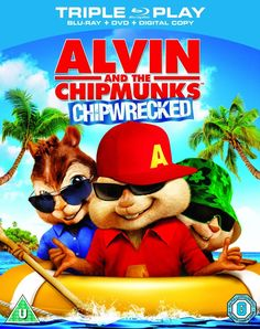 An image of Alvin and the Chipmunks: Chipwrecked on Blu-ray