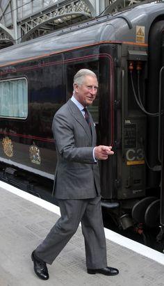 Prince Charles Prince of Wales visits Glasgow