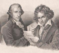 Haydn et Beethoven © ONBildarchiv