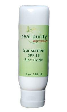 Sunscreen Zinc Oxide---rated 0 on skin deep