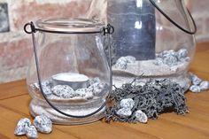 Dekoset Windlichter - -zeitlos und elegant in den Farben schwarz, grau und weiß