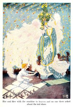 Fairy tales from Hans Christian Andersen' illustrated by Dugald Stewart Walker. Published 1914 by Doubleday & Co