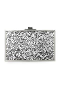Halston Heritage Handbags Hologram Clutch, Retail $245, Rental $10