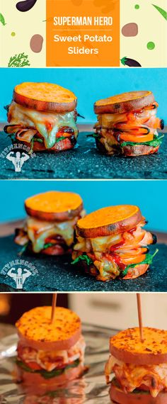 These are amazing. We've made them so many times. ---Every now and then a recipe comes along to save us from a boring, bland healthy diet. This was the one that saved the day for me. And if you let it, it can save you too! These sweet potato sliders can be prepped so you can enjoy throughout the week, are family & kid friendly and will not break the bank. #fitmencook #fitwomencook #glutenfree #sliders #sweetpotato #healthy
