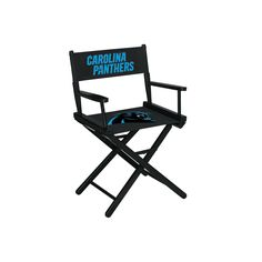 Directors Chair - Table Height - Carolina Panthers