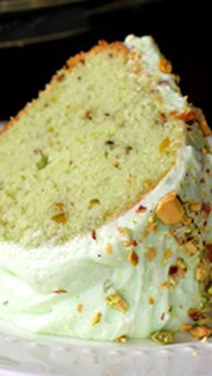 Homemade Pistachio Pudding Cake ~ No cake mix involved, just a gorgeous, perfect crumb bundt cake with pistachio pudding mixed in