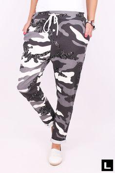 Dámske maskáčové tepláky T10 Sweatpants, Fashion, Moda, La Mode, Sweat Pants, Fasion, Jumpsuits, Fashion Models, Trendy Fashion