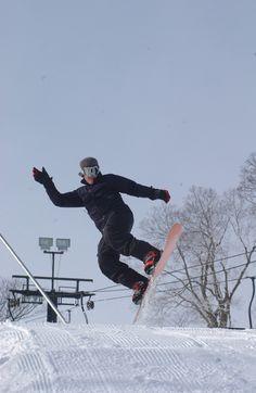 Snowboarding at Sleepy Hollow Sports Park