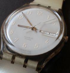 Vintage 1999 Swatch Watch Snowcovered GK733 Men's Women's Lady's Swiss Quartz #Swatch #Casual