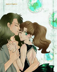 Nephrite and Jupiter