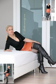 Neues von Leathermandy – Seite 264 – Leather Forum News from Leathermandy – Page 264 – Leather Forum High Top Boots, Long Boots, Thigh High Boots, High Heel Boots, Over The Knee Boots, Heeled Boots, High Heels, Sexy Boots, Black Boots