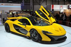 McLaren P1 (via autoblog.com)