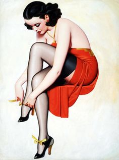 Illustration by Enoch Bolles c. 1930's