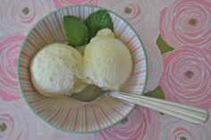 Summer Eats.Vanilla Bean Ice Cream