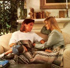 Lisa and Priscilla Presley