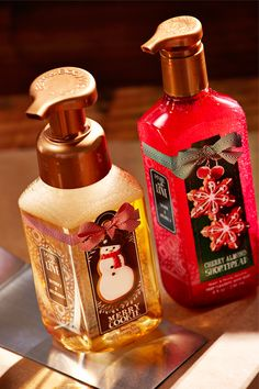 Decorate your home with the most festive Hand #Soaps. #BBWPerfectChristmas