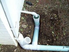 Beautiful Design Sump Pump Yard Drainage Magnificent 1000 Images About Sump Pump Solutions On Pinter Yard Drainage System, Sump Pump Drainage, Backyard Drainage, Landscape Drainage, Backyard Landscaping, Drainage Solutions, Drainage Ideas, Sump Drain, French Drain