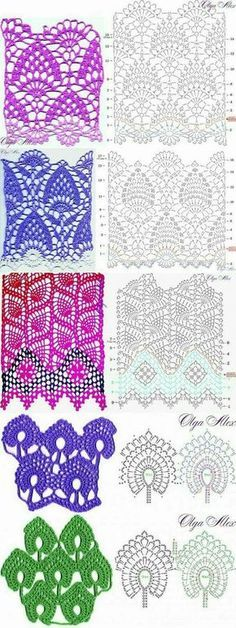 Watch This Video Beauteous Finished Make Crochet Look Like Knitting (the Waistcoat Stitch) Ideas. Amazing Make Crochet Look Like Knitting (the Waistcoat Stitch) Ideas. Crochet Stitches Chart, Crochet Skirt Pattern, Crochet Motifs, Crochet Diagram, Crochet Stitches Patterns, Stitch Patterns, Sewing Patterns, Crochet Doilies, Crocheted Lace