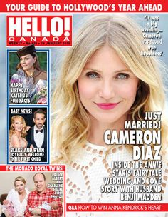 Issue 430: Actress CAMERON DIAZ and rocker BENJI MADDEN ring in the new year with a surprise wedding attended by celebrity pals REESE WITHERSPOON and DREW BARRYMORE