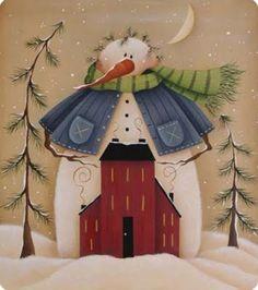 Luciana Celeste! Blog de artesanias y manualidades.: algunas pinturas navideñas!!!