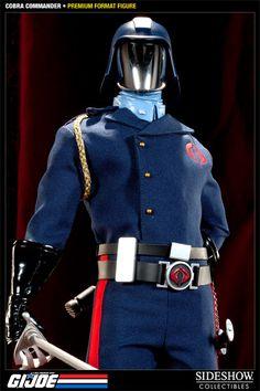 Cobra Commander Premium Format Figure