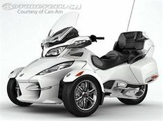 Three wheel motorbikes for adults wheel motorcycles for Tilting motor works dealers