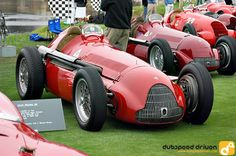 Alfa Romeo racer at Pebble Beach 2005. I was working in automotive media at the time.