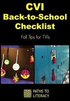 Back-to-school checklist for TVIs teaching students with CVI