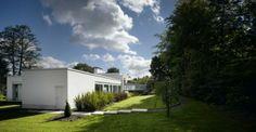 Zwei Rechteckige Volumen Auf Verschiedenen Ebenen   Ein Haus In Manchester    Http://